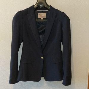 Women's Navy Blue Suit Jacket Sz 4